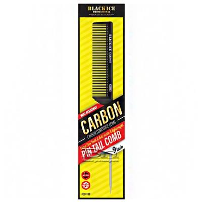 Black Ice #CCO103 Carbon Pin Tail Comb 9