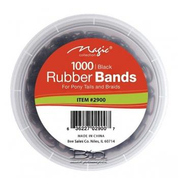 Magic Collection #2900 Rubber Band 1000pc Black