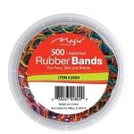 Magic Collection #2800 Rubber Band 500pc Assorted