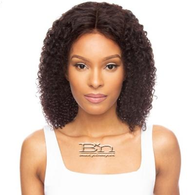 Awesome Ebony Virgin Human Hair 360 Lace Frontal Wig - WATER WAVE 14