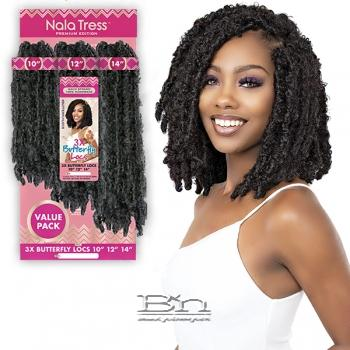 Janet Collection Synthetic Braid - 3X BUTTERFLY LOCS (10/12/14)