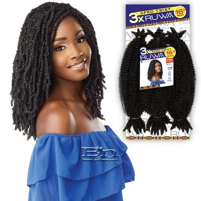 Sensationnel Synthetic Braid - 3X RUWA AFRO TWIST 16