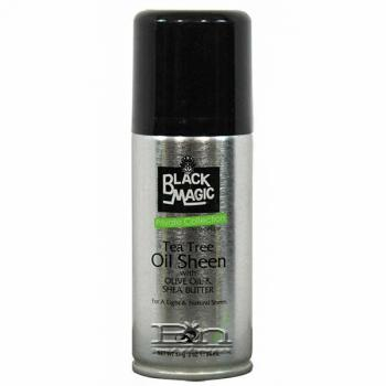 Black Magic Tea Tree Oil Sheen With Olive Oil & Shea Butter Spray 2oz