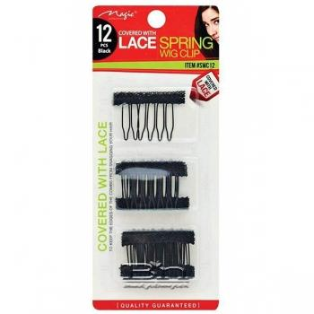 Magic Collection #SWC20 Durable & Secure Flat-Not Bulky Spring Wig Clip 20pcs