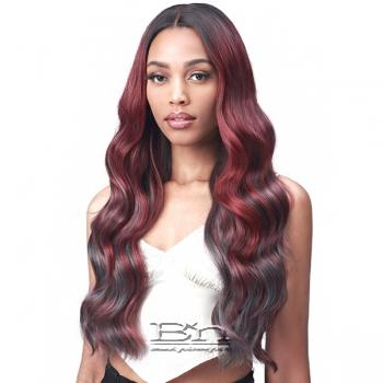 Bobbi Boss Synthetic Hair 5 inch Deep Part Lace Front Wig - MLF554 ROSEWOOD