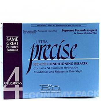 Ultra Precise No-Lye Conditioning Relaxer Super - 4 Applications