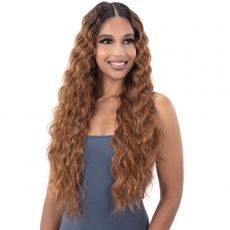 Freetress Equal Lace & Lace Synthetic Hair HD Lace Front Wig - DEEP WAVER 003