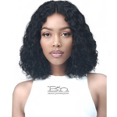 Bobbi Boss 100% Unprocessed Human Hair 4.5 inch Lace Part Wig - MHLP0006 ADANA