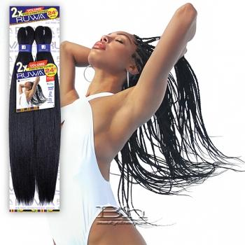 Sensationnel Synthetic Braid - 2X RUWA VOLUME PRE-STRETCHED 24