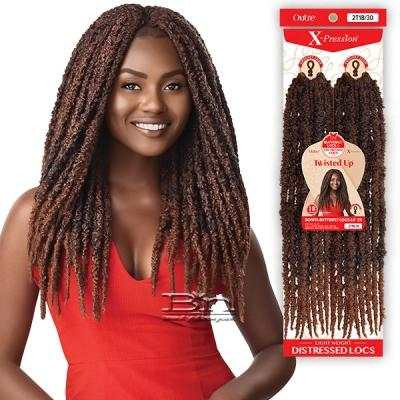 Outre Synthetic Braid - X PRESSION TWISTED UP 2X BONITA BUTTERFLY LOCS 18