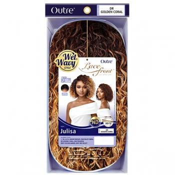 Outre Synthetic Wet & Wavy Style HD Lace Front Wig - JULISA