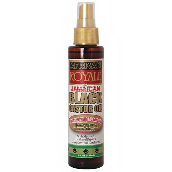 African Royale Jamaican Black Castor Oil with Rosemary 5oz