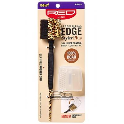 Red By Kiss BSH43 Professional Edge Styler Plus 3 In 1 Edge Control
