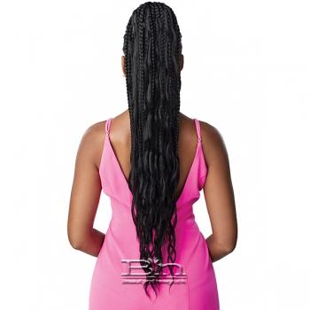 Outre Synthetic Pretty Quick Wrap Pony - BOHO BOX BRAID 32