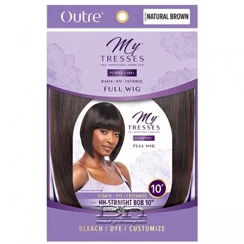 Outre Mytresses Purple Label 100% Unprocessed Human Hair Wig - STRAIGHT BOB 10