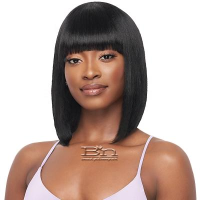 Outre Mytresses Purple Label 100% Unprocessed Human Hair Wig - STRAIGHT BOB 12