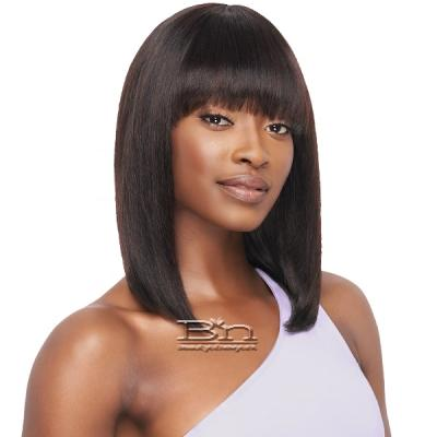 Outre Mytresses Purple Label 100% Unprocessed Human Hair Wig - STRAIGHT BOB 14