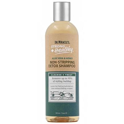 Dr. Miracle's Strong + Healthy Non-Stripping Detox Shampoo 12oz