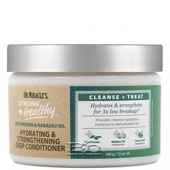 Dr. Miracle's Strong + Healthy Hydrating & Strengthening Deep Conditioner 12oz