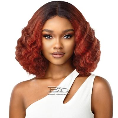 Outre Synthetic Wet & Wavy Style HD Lace Front Wig - SOLEIL