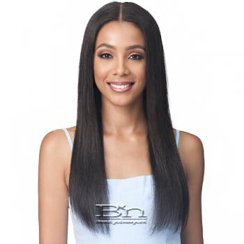 Bobbi Boss 100% Virgin Remy Human Hair 13X4 Lace Frontal Wig - MHLF508 NAT.STRAIGHT 24
