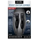 Andis Pivot Motor Combo Adjustable Blade Clipper & Trimmer #24075