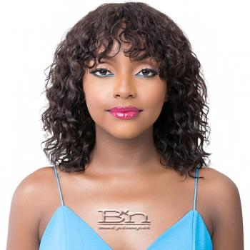 It's A Wig 100% Human Hair Wig - HH WET N WAVY NATURAL DEEP WATER 14