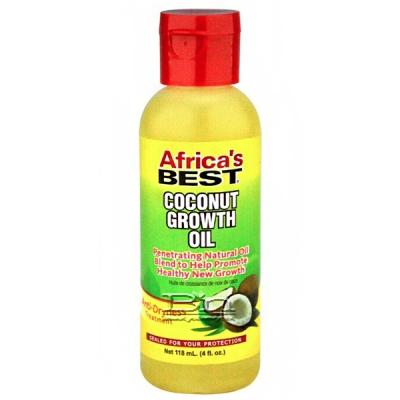 Africa's Best Coconut Growth Oil 4oz