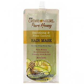 Creme Of Nature Pure Honey Smoothing & Frizz Control Hair Mask 3.8oz - Avacado