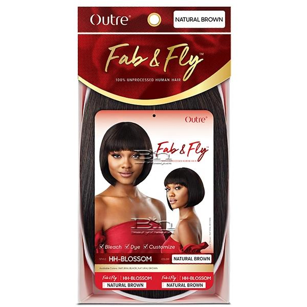 Outre 100% Human Hair Fab & Fly Wig - HH BLOSSOM
