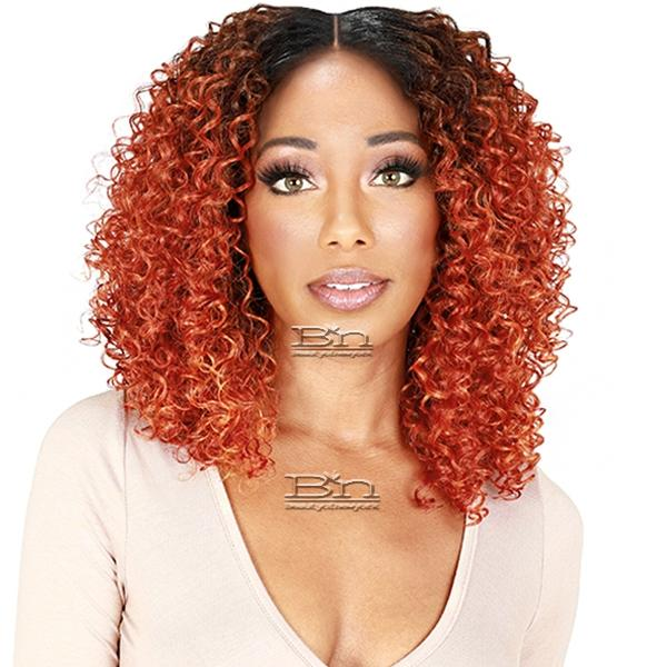 Zury Sis Thin Top Synthetic Hair HD Lace Front Wig - NAT FT LACE H SEMI