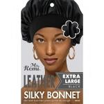 Annie Ms. Remi Leather Silky Satin Bonnet Extra Large