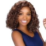 Bohemian Natural Hairline Synthetic Hair Lace Wig - LPW RETRO