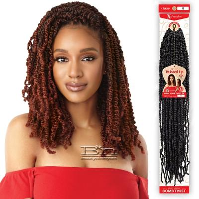 Outre Synthetic Braid - X PRESSION TWISTED UP WAVY BOMB TWIST 24