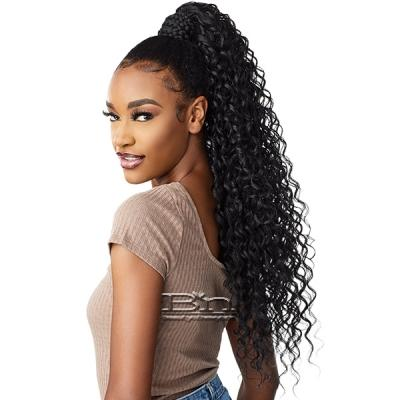 Sensationnel Synthetic Ponytail Instant Pony Wrap - BRAIDED DEEP 28