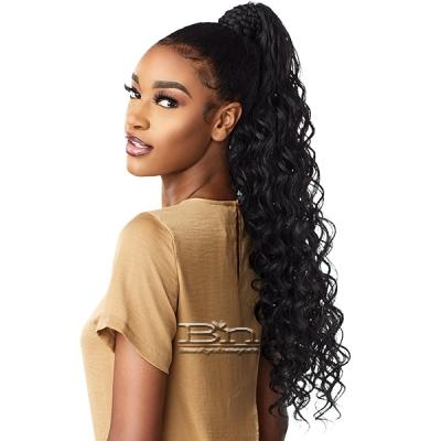 Sensationnel Synthetic Ponytail Instant Pony Wrap - BRAIDED LOOSE DEEP 26