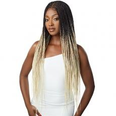 Outre Pre-Braided Synthetic HD Lace Wig - KNOTLESS SQUARE PART BRAIDS (13x4 lace frontal)