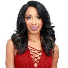 Zury Sis Naturali Star Synthetic Hair HD Lace Front Wig - NAT LACE H MOU