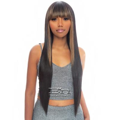 The Wig Human Hair Blend Wig - HH STRAIGHT 32