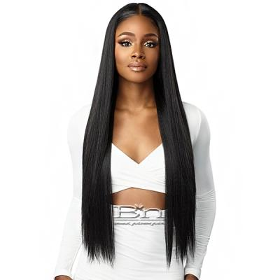 Sensationnel Human Hair Blend Butta HD Lace Front Wig - STRAIGHT 32