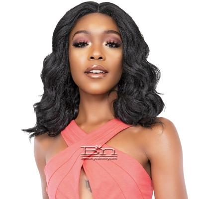 Janet Collection Natural Me Blowout Synthetic Hair HD Lace Wig - AUDRINA