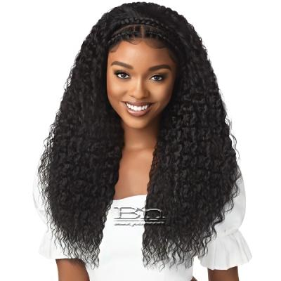 Outre Pre-Styled Synthetic HD Lace Wig - HALO STITCH BRAID 26 (13x2 lace frontal)