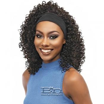 Janet Collection Crescent Synthetic Hair Headband Wig - FAYE