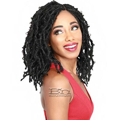 Zury Sis Diva Collection Synthetic Hair 4X5 Lace Braided Wig - BUTTERFLY LOC SHORT