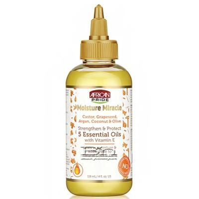 African Pride Moisture Miracle Strenthen & Protect 5 Essential Oils 4oz