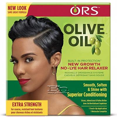 ORS Olive Oil New Growth No-Lye Extra Strength Hair Relaxer Kit