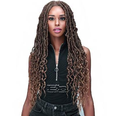 Bobbi Boss Synthetic Hair Lace Front Wig - MLF620 NU LOCS FRENCH TIPS 30