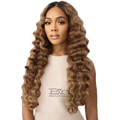 Outre Synthetic Melted Hairline HD Lace Front Wig - BRIALLEN