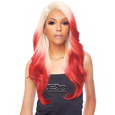 Awesome T Lace Human Hair Blend HD Lace Front Wig - HBLF FARRAH 22