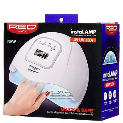 Red by Kiss UV01 InstaLamp Professional LED Gel Nail Lamp